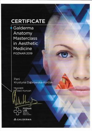 Galderema Anatomy Masterclass in Aesthetic Medicine - Poznań 2018